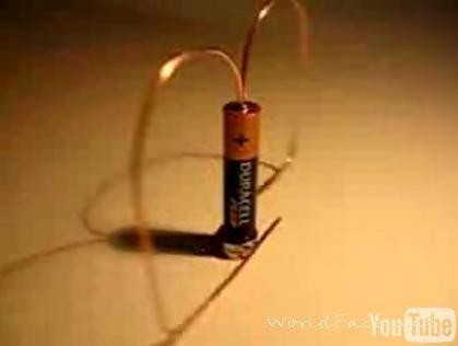 Самая простая батарейка своими руками