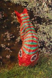 Тюнингованные кошки (15 фото)