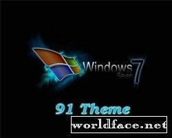 Оригинальные темы для windows 7.